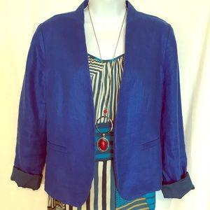 LOFT royal blue blazer